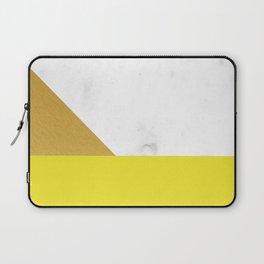 yellow marmor Laptop Sleeve