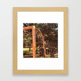 Goal Detail Framed Art Print
