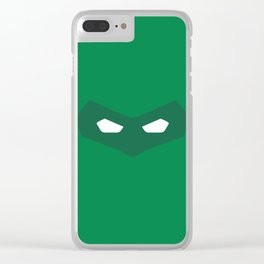 Green Lantern superhero Clear iPhone Case