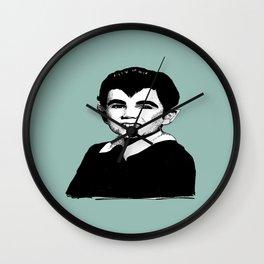 wolfboy eddie munster Wall Clock