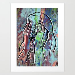 How Are you Feeling Today pt.1 Art Print