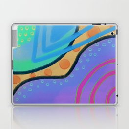 Colorful Abstract Art Digital Painting  Laptop & iPad Skin