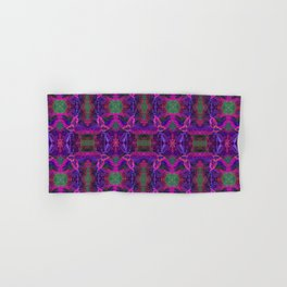 Purple Kong Coleus Plant - Botanical Illustration Hand & Bath Towel
