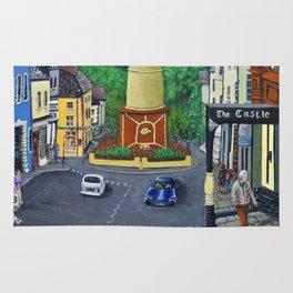 Tredegar Town Clock Rug