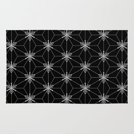 Graphic mosaic Rug