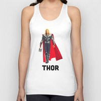 thor Tank Tops featuring Thor by Marianna