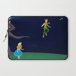 Peter in Wonderland Laptop Sleeve