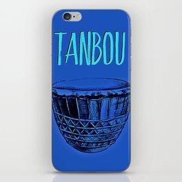 Tanbou(blue) iPhone Skin