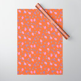 Forget Me Not Wrapping Paper