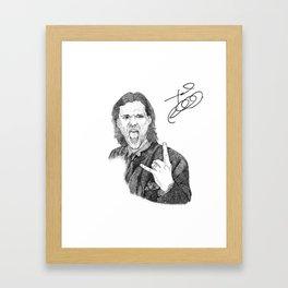 Jared Padalecki Framed Art Print
