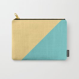 Minimalistic two color pattern Carry-All Pouch