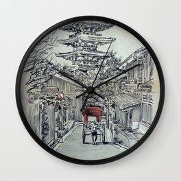 TOKYO TEMPLE Wall Clock