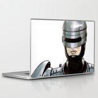 robocop Laptop & iPad Skins featuring Robocop by Nicole Cuvin