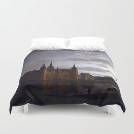 Johan Christian Claussen Dahl Frederiksborg Castle Duvet Cover