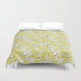ginkgo leaves (special edition) Duvet Cover