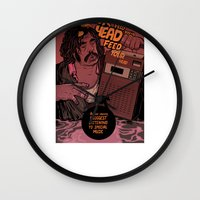 lawyer Wall Clocks featuring Lawyer (special music) by Mikhail Kalinin