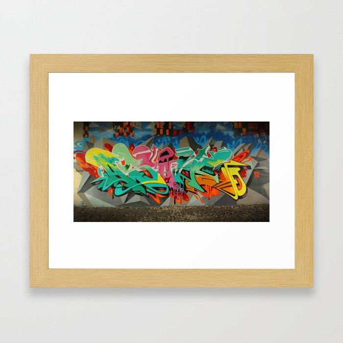 AS ONE GRAF PIECE 2 Framed Art Print