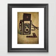 Time Love Framed Art Print