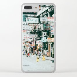 HONG KONG Clear iPhone Case