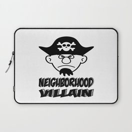 Neighborhood Villain Laptop Sleeve