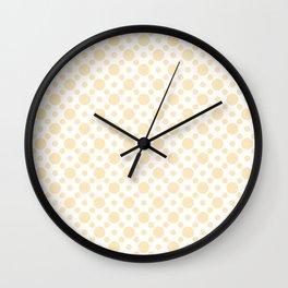Circles Pattern Dots Wall Clock