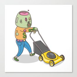 My Personal Zombie Canvas Print