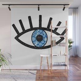 Greek Evil Eye Wall Mural
