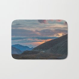 Polychrome Pass Denali National Park Mt McKinley Mt Denali Bath Mat