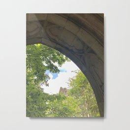 Decorative Stone Arch Metal Print