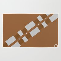 chewbacca Area & Throw Rugs featuring Chewbacca by VineDesign