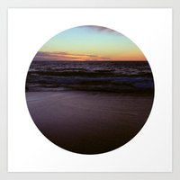 Back Beach I Art Print