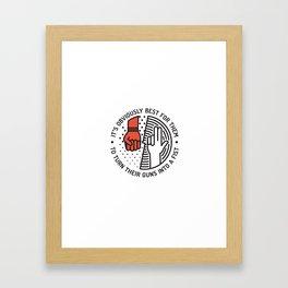 GH Framed Art Print