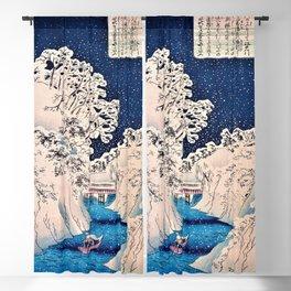 12,000pixel-500dpi - Utagawa Hiroshige - Famous Views of Edo - Ochanomizu Blackout Curtain