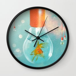 Goldfish Ideas Wall Clock