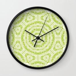 Spring Botanic Mandala Wall Clock