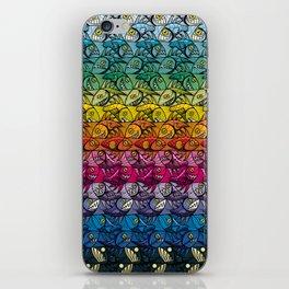 Escher Fish Rainbow Pattern iPhone Skin