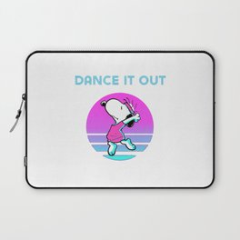 Dance It Out snoopy Laptop Sleeve