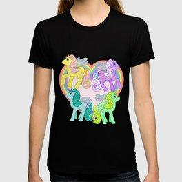 g1 my little pony Flutter Ponies T-shirt