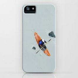 Solitude- Kayaker iPhone Case