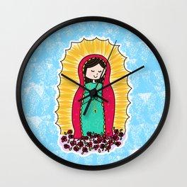 Virgen de Guadalupe by Paisley In Paris™ Wall Clock