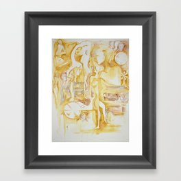 sepia III Framed Art Print