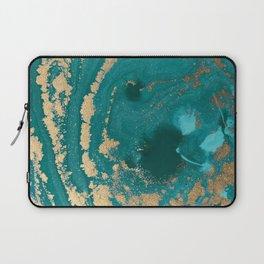 Fluid Gold Laptop Sleeve