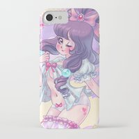 lolita iPhone & iPod Cases featuring Lolita by Pich illustration