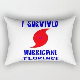 I Survived Hurricane Florence Rectangular Pillow