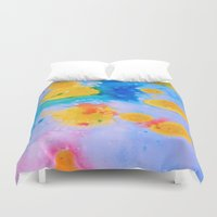 science Duvet Covers featuring Science Experiment by DuckyB