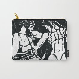 Greek Man & Boy Erotica (detail) Carry-All Pouch