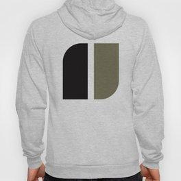 Geometric Pattern #41 (black gray) Hoody