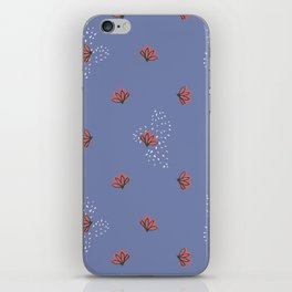 Cacti Flowers iPhone Skin