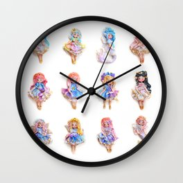 The seelie folks Wall Clock