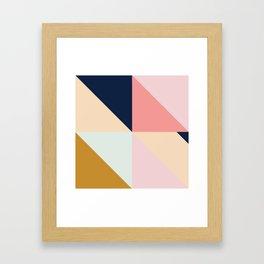 Geometric Pattern IX Framed Art Print
